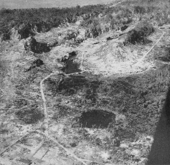 Aerial View of Hill 100