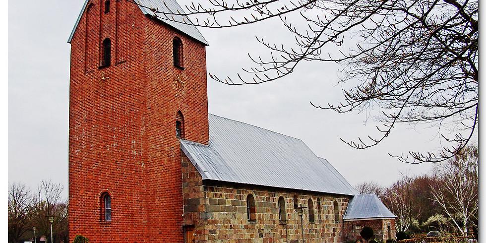 Gudstjeneste og Lydvandring ved Jerne Kirke i Esbjerg