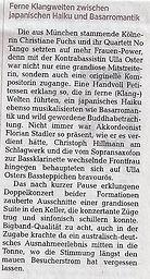 Zeitung Dresden 2014 - Courtesy Kathleen Goldammer
