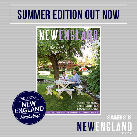 New England Living, Australia - Feature Article.
