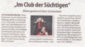 Duo Clarisma! in Dortmund.