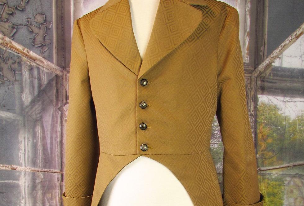 Handmade 19th Century Cutaway Tailcoat