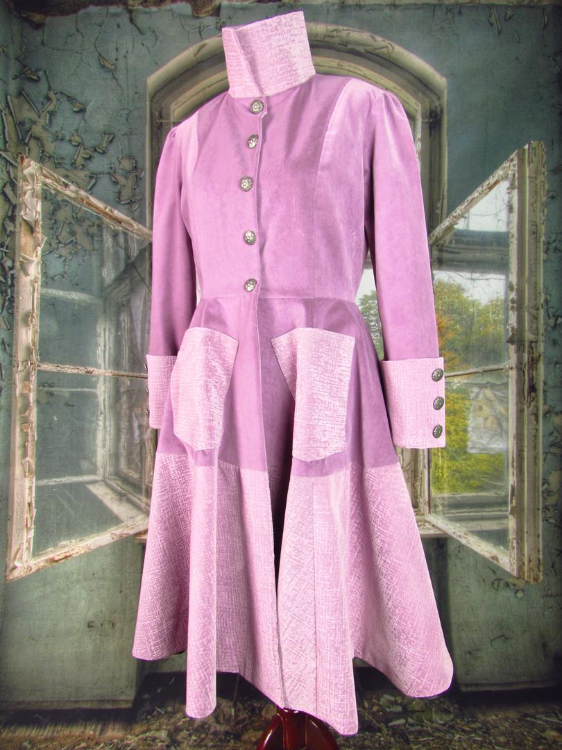 Lavender Velvet Coat