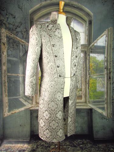 Silver Brocade Coat_Front.JPG