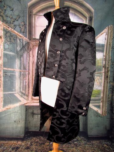 Black Broade Handmade 18th C Coat