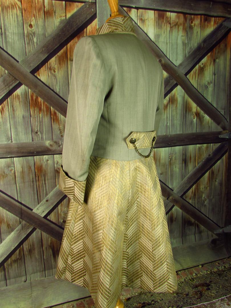 Tan Steampunk Frock Coat