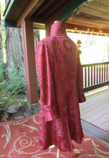 Burgundy Edwardian Coat