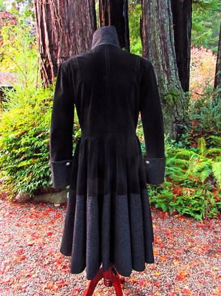 Black Velvet Wedding Officiant Coat