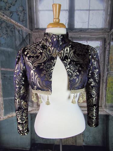 Handmade Purple Gypsy Bolero