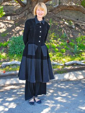 Denise in Wedding Officiant Coat