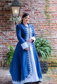 Elizabeth in Wedding Coat