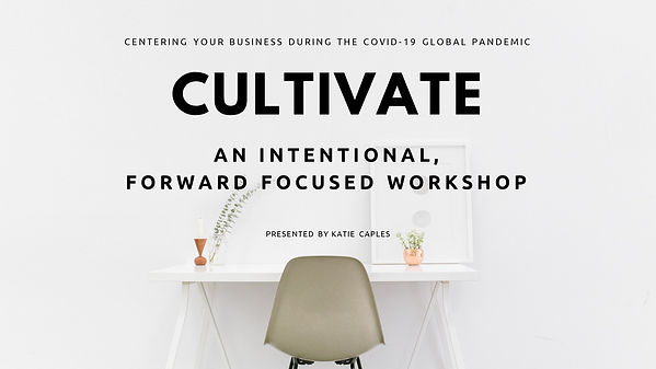 #1 CULTIVATE - INTRO + WELCOME. Thumbnai