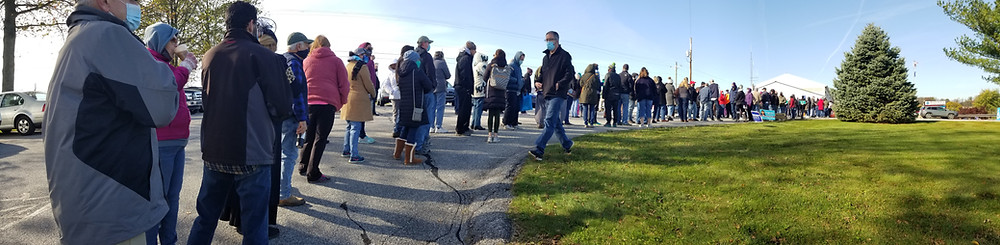 Long lines on Election Day in South-Central Pennsylvania