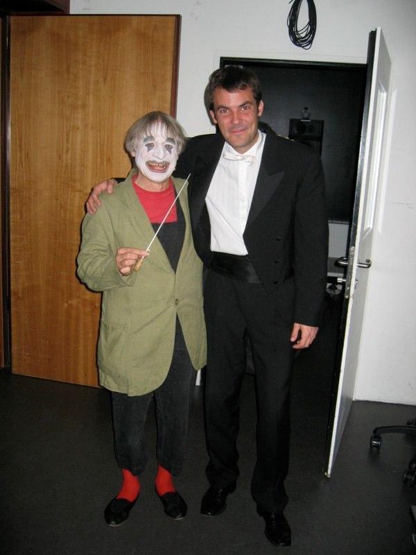 mit Dimitri im KKL