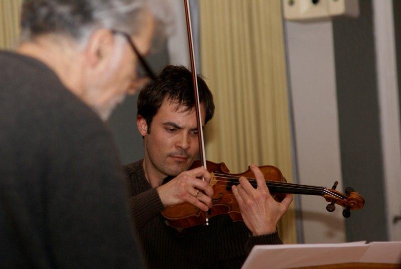 mit dem Komponist Alfred Knüsel