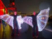 LED Stilt Walkers
