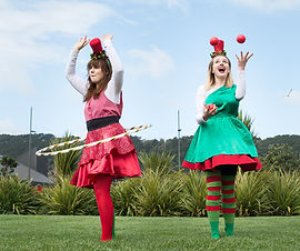 Circus Christmas Fairies