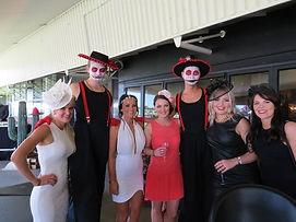 Halloween characters in Auckland