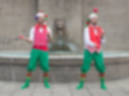 Xmas Elf Jugglers