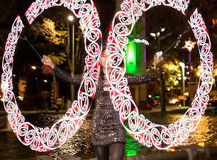 LED Graphic Poi Performer