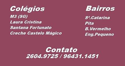 M3, Laura Cristina, Santana Fortunato, Creche Castelo Mágico.
