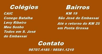 Colégio CAIC, Conego Batalha, Levy Ribeiro, Meu Sonho.