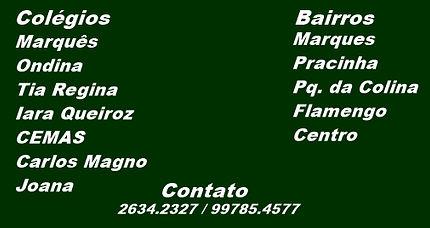 Colégio Marquês, Ondina, Tia Regina, Iara Queiroz, CEMAS, Carlos Magno, Colégio Joana.