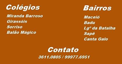 Miranda Barroso, Sorriso, Girassóis, Balão Mágico.