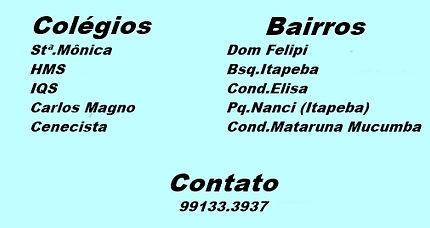 Colégio Santa Mônica,HM, IQS, Carlo Magno, Cenecista.