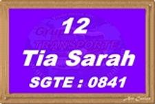 Tia Sarah - Grupo Transporte Legal