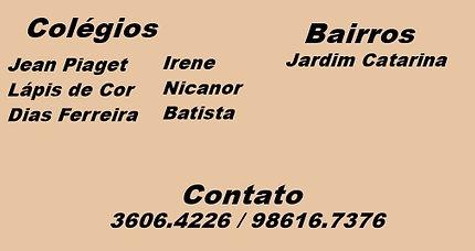 Jean Piaget, Lápis de Cor, Dias Ferreira, Irene, Nicanor, Batista.
