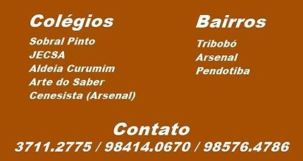 Colégio Sobral Pinto, JECSA, Aldeia Curumim, Arte do Saber, Colégio Cenecista Arsenal