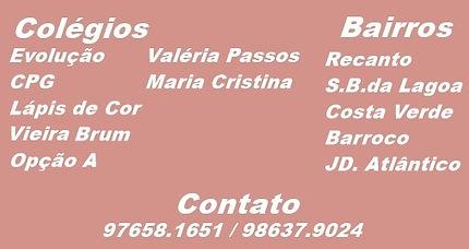 Evolução, CPG, Lápis de Cor, Vieira Brum, Opção A, Valéria Passos, Maria Crisina.