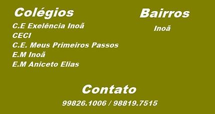 Excelência, CECI, Meus Primeiros Passos, Inoã, Aniceto Elias.