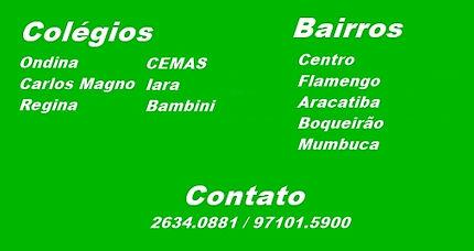 Colégio Ondina, Carlos Magno, Regina, CEMAS, Iara, Bambini.
