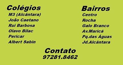 M3, João Caetano, Rui Barbosa, Olavo Bilac, Pericar, Alber Sabin.