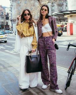 London Fashion Week Grace McGovern Collyer Twins