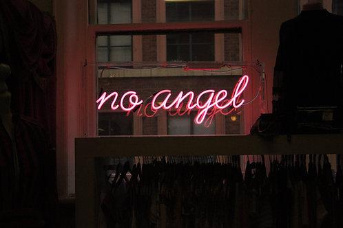 No Angel Neon Sign