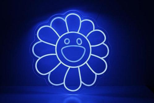 Takashi Murakami Single Colour Neon Sign
