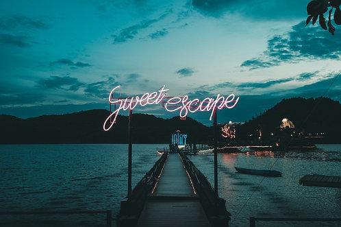Sweet Escape Neon Sign