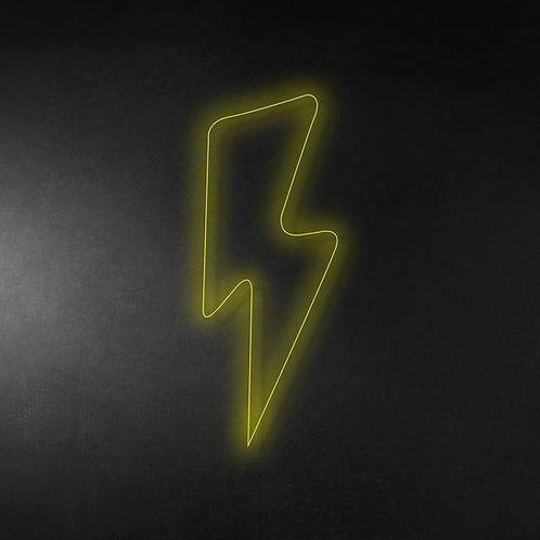 Lightning 30cm Neon Sign