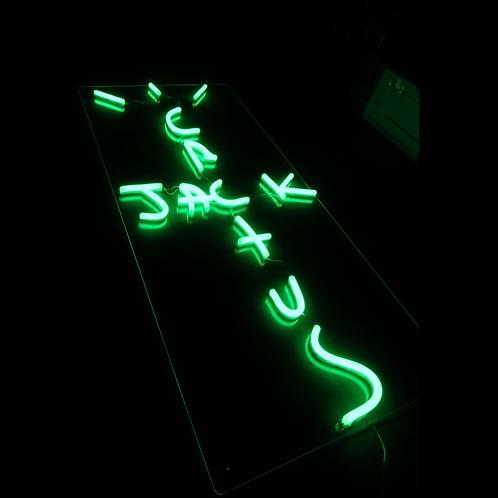 Cactus Jack Neon Sign