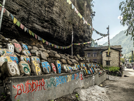 Népal: De Chame (2710m) à  Upper Pisang (3250m)