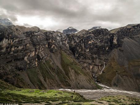 Népal: De Sree Kharka (4030m) à Thorong Phedi (4450m)