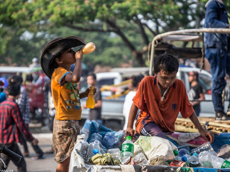 Les enfants pauvres d'Asie du sud (récit)