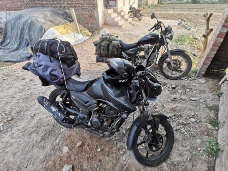 En moto de Jaipur à Jodphur!