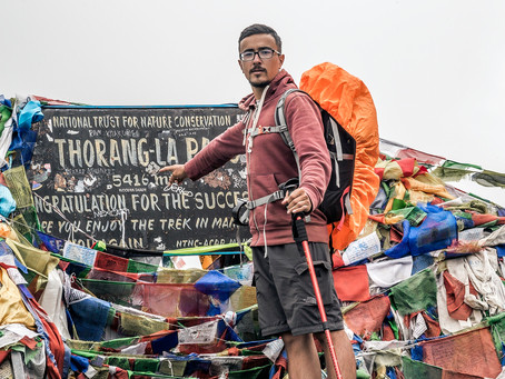 Népal: Thorong La Pass (5416m)