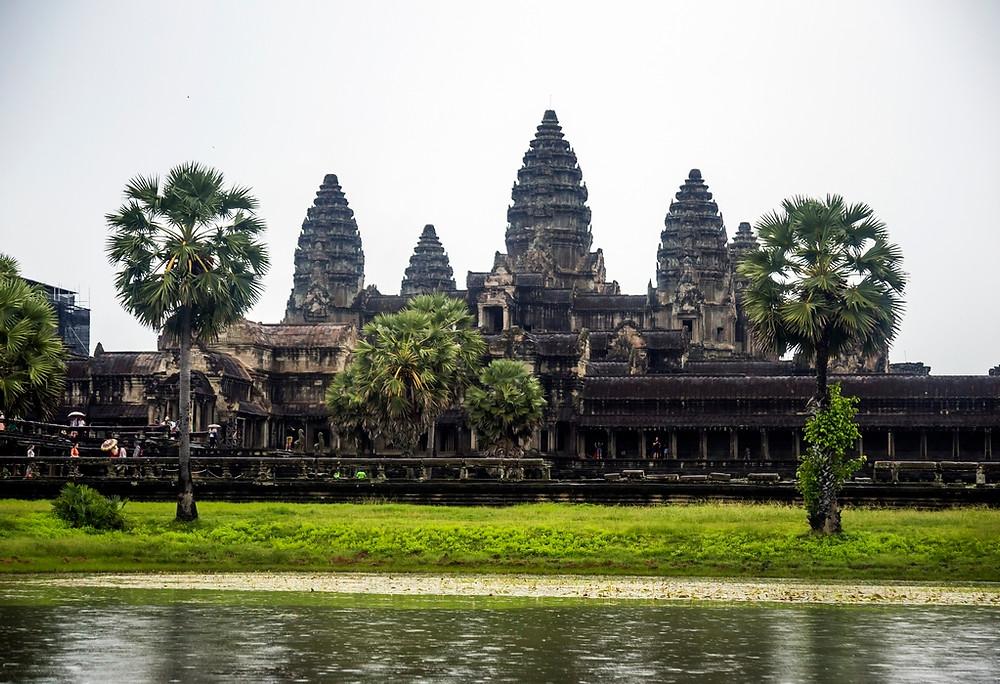 Le temple d'Angkor, le lieux touristique le plus connu du Cambodge (Sylvain Freulon ©)