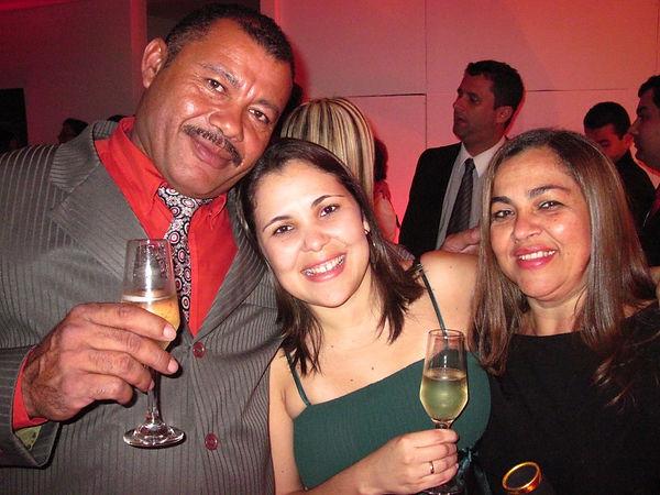 Formatura MBA in Company na TAM em 2009 - Meus pais