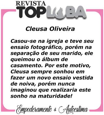 História - Cleusa Oliveira do Guarujá
